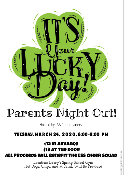 Parents Night Out March 24th