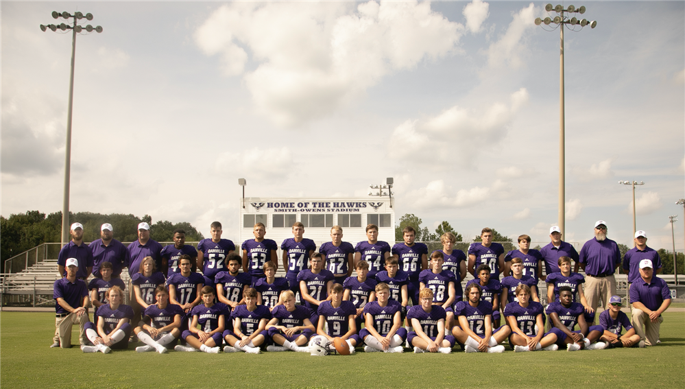 2018 DHS Football Team and Coaches