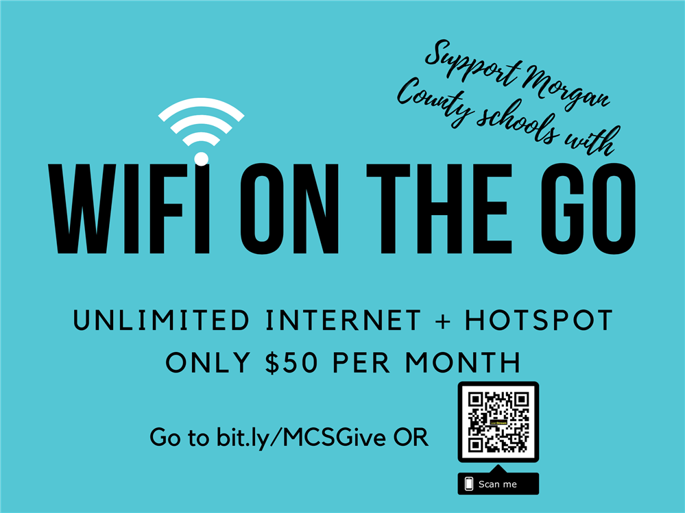 WiFi on the GO by Morgan County Schools!