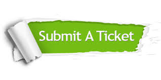 Submit a ticket!