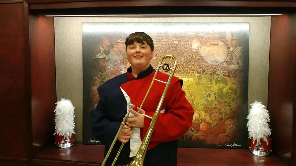 Congratulations to Jonathan Goodwin for being selected to University of Alabama HS Honor Band