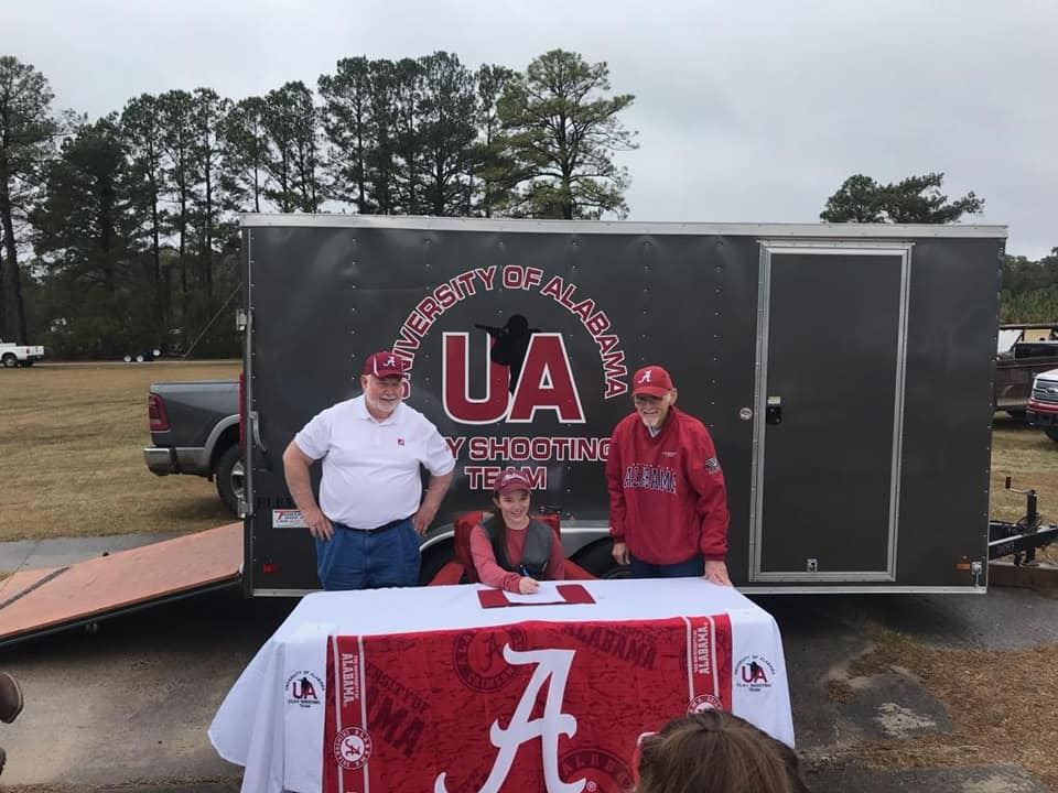 Abbey Hall signs with University of Alabama