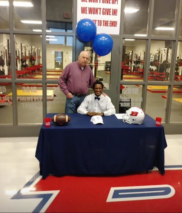 DJ Anderson signed to play football with Tennessee Valley Prep School.
