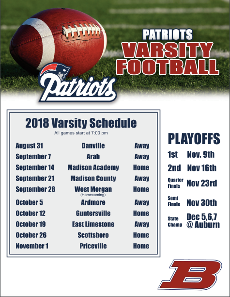 Come out and Support our Patriots!